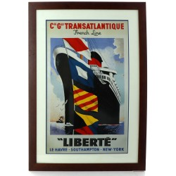 Reproduction moderne d'une affiche, enca